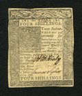 Colonial Notes:Delaware, Delaware January 1, 1776 4s About New....
