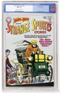 Silver Age (1956-1969):Adventure, The Brave and the Bold #48 Strange Sports Stories - Pacific Coast pedigree (DC, 1963) CGC NM+ 9.6 Off-white to white pages....