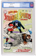 Silver Age (1956-1969):Adventure, The Brave and the Bold #49 Strange Sports Stories - Pacific Coast pedigree (DC, 1963) CGC NM 9.4 Off-white to white pages....