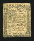 Colonial Notes:Delaware, Delaware January 1, 1776 2s/6d Extremely Fine....