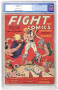 Golden Age (1938-1955):Miscellaneous, Fight Comics #1 (Fiction House, 1940) CGC VG 4.0 Cream to off-white pages....