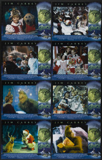 "How the Grinch Stole Christmas (Universal, 2000). Lobby Card Set of 8 (11"" X 14""). Family.... (Total: 8 Items)"
