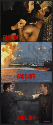 """Face/Off (Paramount, 1997). Lobby Card Set of 8 (11"""" X 14""""). Action.... (Total: 8 Items)"""