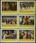 "Movie Posters:Adventure, The Last Days of Pompeii (United Artists, 1960). Lobby Cards (6)(11"" X 14""). Adventure.... (Total: 6 Items)"