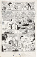 "Original Comic Art:Panel Pages, Gene Colan and John Tartaglione Daredevil Annual #1 ""StoryConference with Stan and Gene,"" page 2 Original Art (Ma..."