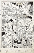 "Original Comic Art:Panel Pages, Gene Colan and John Tartaglione Daredevil Annual #1 ""A StoryConference with Stan and Gene,"" page 3 Original Art (..."