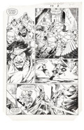 Original Comic Art:Panel Pages, Mike Docherty and Art Nichols - Conan the King #33, page 2 Original Art (Marvel, 1986)....