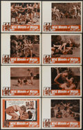 """Movie Posters:Fantasy, The Wild Women of Wongo (Tropical, 1958). Lobby Card Set of 8 (11"""" X 14""""). Fantasy.... (Total: 8 Items)"""