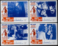 "Movie Posters:Sexploitation, White Slave Girls (Stratford, 1968). Lobby Cards (4) (11"" X 14"").Sexploitation.... (Total: 4 Items)"