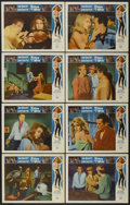 "Movie Posters:Bad Girl, Kitten with a Whip (Universal, 1964). Lobby Card Set of 8 (11"" X14""). Bad Girl.... (Total: 8 Items)"