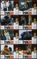 "Movie Posters:Action, True Lies (20th Century Fox, 1994). Lobby Card Set of 8 (11"" X14""). Action.... (Total: 8 Items)"