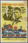 "Movie Posters:War, Run Silent, Run Deep (United Artists, 1958). One Sheet (27"" X41.5""). War...."