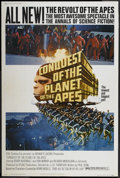 """Movie Posters:Science Fiction, Conquest of the Planet of the Apes (20th Century Fox, 1972). Poster (40"""" X 60""""). Science Fiction...."""