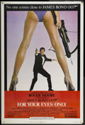 "Movie Posters:James Bond, For Your Eyes Only (United Artists, 1981). Poster (40"" X 60"").James Bond...."