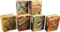 Platinum Age (1897-1937):Miscellaneous, Big Little Book Buck Rogers Group (Whitman, 1933-40).... (Total: 6Items)