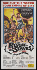 """Movie Posters:Adventure, The Revolt of the Slaves (United Artists, 1961). Three Sheet (41"""" X81""""). Adventure...."""