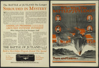 "Battle of Jutland (Educational Pictures, 1921). Promotional Flyer (9"" X 12""). War"