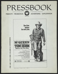 Tom Horn (Warner Brothers, 1980). Pressbook (Multiple Pages). Western