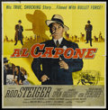 """Movie Posters:Crime, Al Capone (Allied Artists, 1959). Six Sheet (81"""" X 81""""). Crime...."""