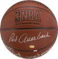 Basketball Collectibles:Balls, Boston Celtics Hall of Famers Multi-Signed Basketball. ...
