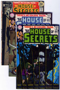 Bronze Age (1970-1979):Horror, House of Secrets Group (DC, 1969-) Condition: Average FN+....(Total: 18 Comic Books)