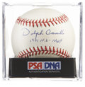 "Autographs:Baseballs, Dolph Camilli ""1941 N.L. MVP"" Single Signed Baseball, PSA NM-MT+8.5...."