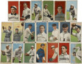 Baseball Cards:Lots, 1909-11 T206 Tobacco Cards Group Lot of 357.... (Total: 357 cards)