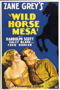 "Movie Posters:Western, Wild Horse Mesa (Paramount, 1932). One Sheet (27"" X 41"")...."