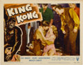 """Movie Posters:Horror, King Kong (RKO, R-1956). Lobby Cards (3) (11"""" X 14"""").... (Total: 3 Items)"""