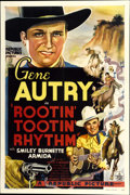 "Movie Posters:Western, Rootin' Tootin' Rhythm (Republic, 1937). One Sheet (27"" X 41"")...."