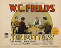 "Movie Posters:Comedy, The Potters (Paramount, 1927). Title Lobby Card (11"" X 14"")...."