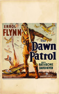 "Movie Posters:War, The Dawn Patrol (Warner Brothers, 1938). Window Card (14"" X22"")...."