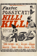 "Movie Posters:Adult, Faster, Pussycat! Kill! Kill! (Eve Productions, 1965). One Sheet (27"" X 41"")...."