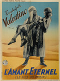 "Movie Posters:Adventure, The Son of the Sheik (United Artists, R-1930s). French Petite(23.5"" X 31.5"")...."