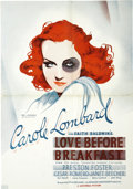 "Movie Posters:Comedy, Love Before Breakfast (Universal, 1936). Pressbook (13.5"" X19.5"")...."