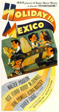 "Movie Posters:Musical, Holiday in Mexico (MGM, 1946). Three Sheet (41"" X 81"")...."