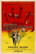 "Movie Posters:Science Fiction, Invasion of the Body Snatchers (Allied Artists, 1956). One Sheet(27"" X 41"")...."