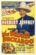 "Movie Posters:Black Films, The Bronze Buckaroo (Sack Amusement Enterprises, 1939). One Sheet(27"" X 41"")...."