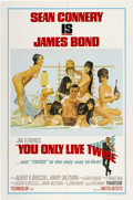 "Movie Posters:James Bond, You Only Live Twice (United Artists, 1967). One Sheet (27"" X 41"")Style C...."