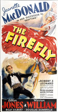 """Movie Posters:Musical, The Firefly (MGM, 1937). Three Sheet (41"""" X 81"""")...."""