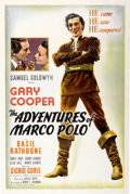 "Movie Posters:Adventure, The Adventures of Marco Polo (United Artists, 1938). One Sheet (27""X 41"").. ..."