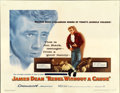 "Movie Posters:Drama, Rebel Without a Cause (Warner Brothers, 1955). Half Sheet (22"" X28"")...."