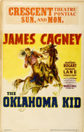 "Movie Posters:Western, The Oklahoma Kid (Warner Brothers, 1939). Window Card (14"" X 22"")...."