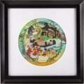 animation art:Limited Edition Cel, The Jungle Book Plate Original Art (Walt Disney Company,undated)....