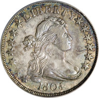 1805/4 50C O-101, R.3--Obverse Scratched, Improperly Cleaned--NCS. AU Details....(PCGS# 6070)