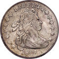 Early Dimes, 1807 10C --Cleaned--ICG. AU50 Details....