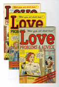 Golden Age (1938-1955):Romance, True Love Problems and Advice Illustrated/Romance Stories of TrueLove File Copies Group (Harvey, 1949-58) Condition: Average ...(Total: 47 Comic Books)
