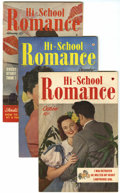 Golden Age (1938-1955):Romance, Hi-School Romance File Copies Group (Harvey, 1949-58) Condition:Average VF+.... (Total: 75 Comic Books)