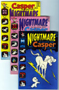 Silver Age (1956-1969):Cartoon Character, Casper and Nightmare File Copies Group (Harvey, 1967-74) Condition:Average NM-....