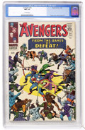 Silver Age (1956-1969):Superhero, The Avengers #24 (Marvel, 1966) CGC NM 9.4 Off-white pages....